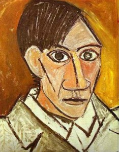 Pablo Picasso - Self Portrait