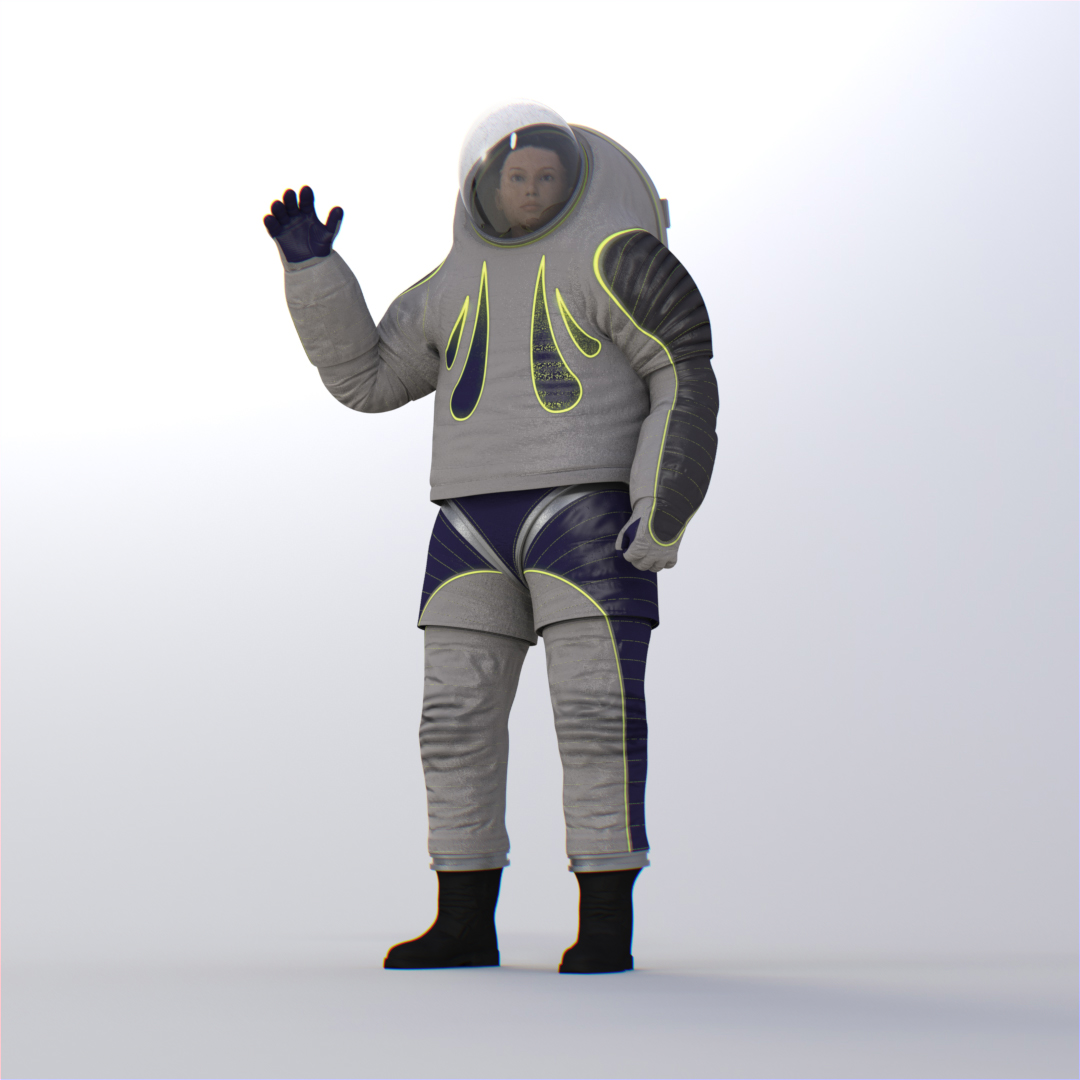 crowdsourcing a new spacesuit design