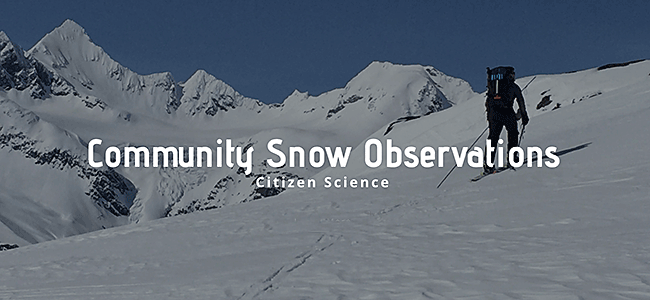 Community Snow Observations