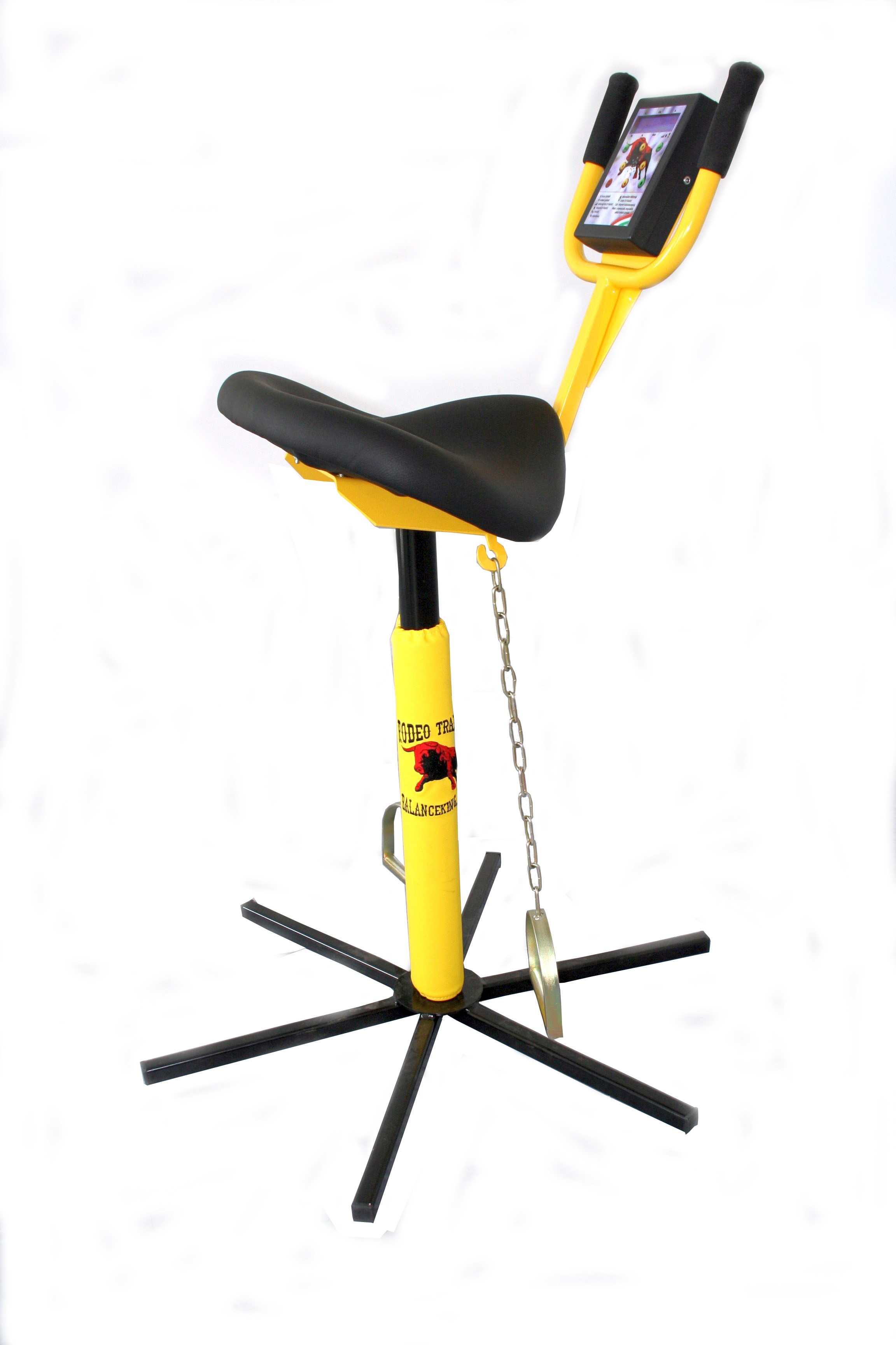 Rodeo trainer exercise chair