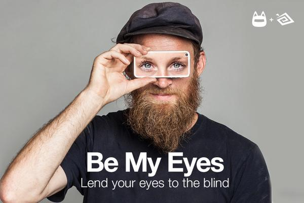 Be my eyes - Lend your eyes to the blind