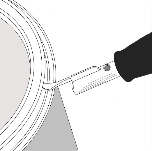 How To Open A Paint Can Without Opener