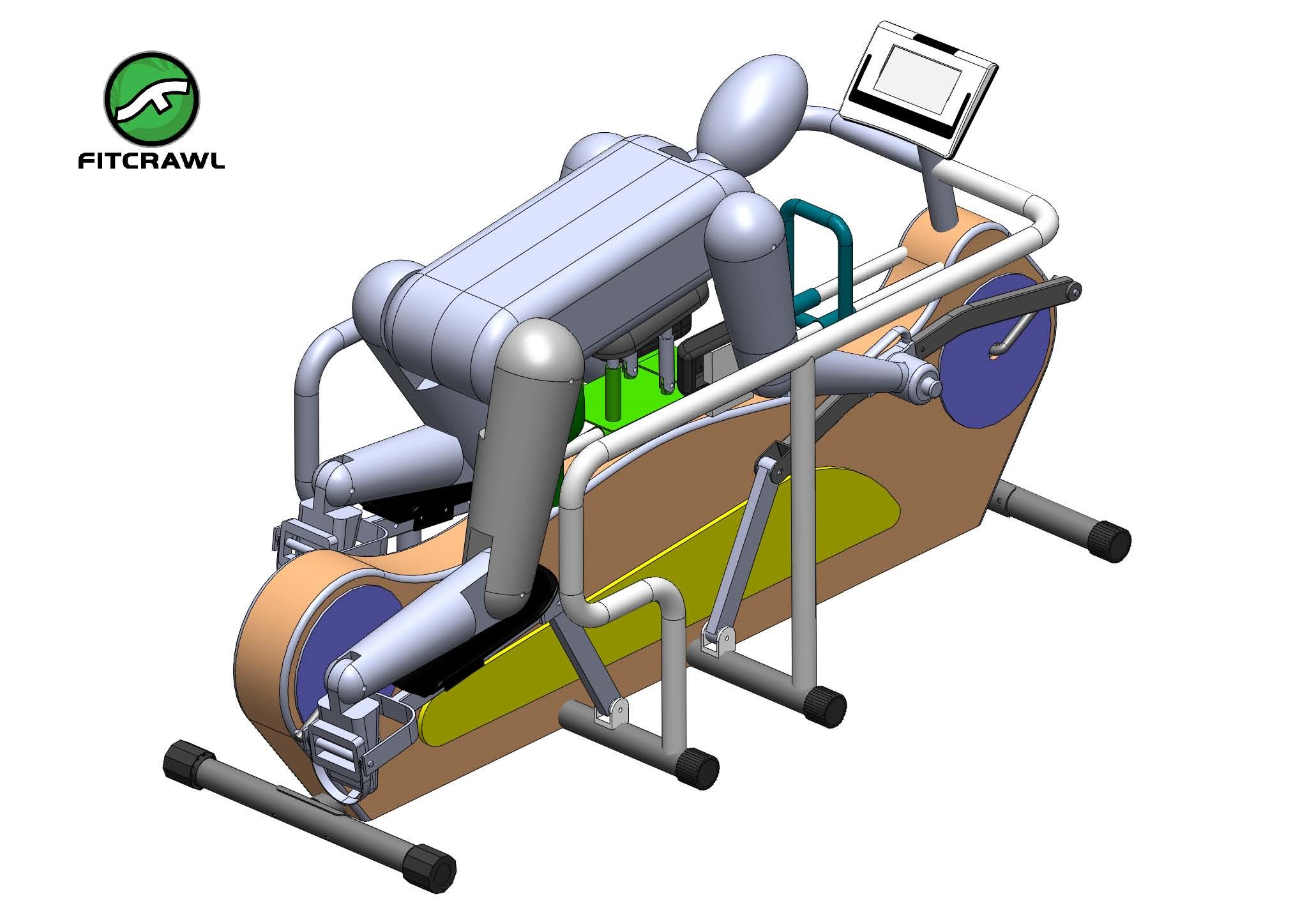 Elliptical Prone Exerciser