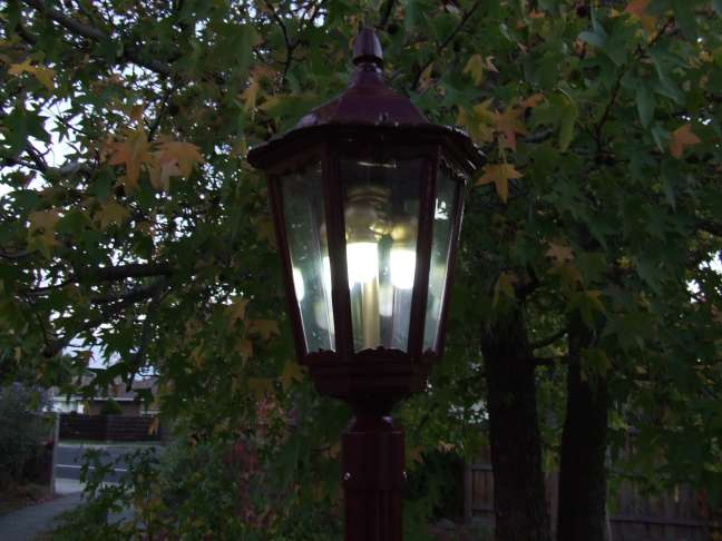 Solar Powered Gas Light