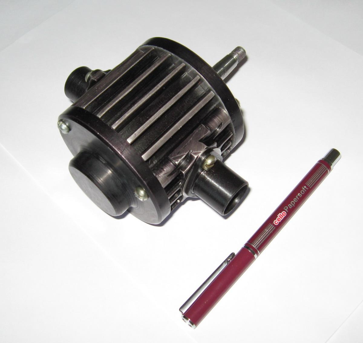Supercharger (air compressor) for motorcycle, motor bike
