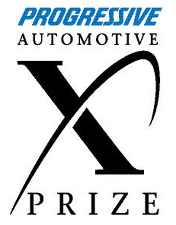 Progressive Auto Logo Xprize  X Logo