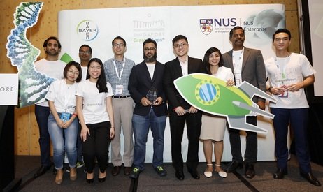 The finalist teams of the Bayer and NUS Enterprise's Grants4Apps Singapore Open Innovation Challenge.jpg