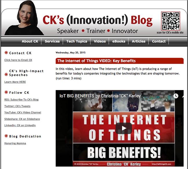 CK's Blog