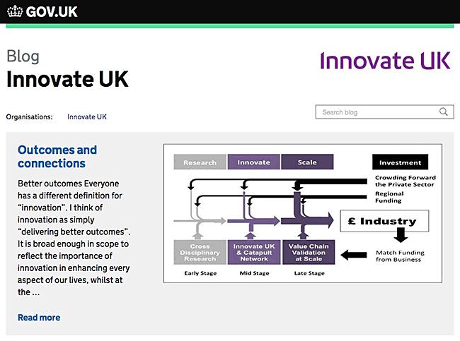 Innovate UK Blog