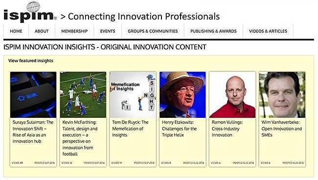 ISPIM Innovation Insights