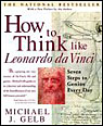 cover of How to Think Like Leonardo Da Vinci