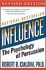 book cover Influence: The Psychology of Persuasion