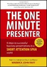 cover of The One Minute Presenter