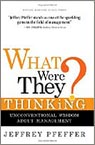 cover of What Were They Thinking