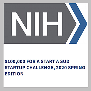 $100,000 for Start a SUD Startup Challenge