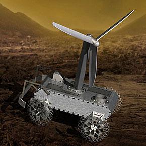 Avoiding Obstacles on a Clockwork Rover