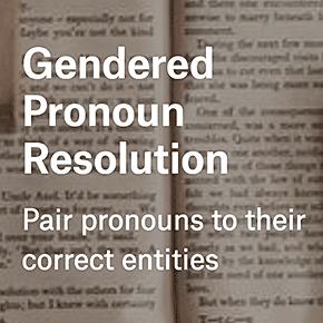 Gendered Pronoun Resolution