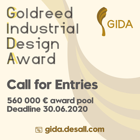 Goldreed Industrial Design Award 2020 (1st edition)