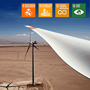 Producing Glass Wool and Insulating Building Materials from Wind Turbine Blades