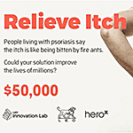 Relieve Itch - HeroX Innovation Challenge