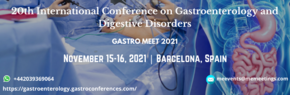 20th International Conference on Gastroenterology and Digestive Disorders