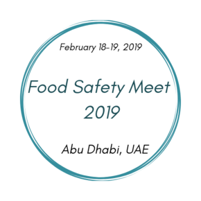2nd International Conference on Food Safety and Health
