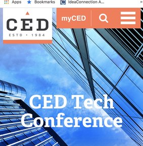 CED Tech Conference