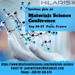 Materials Science & Engineering Conference 2019