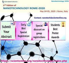 Nanotechnology Rome–2020