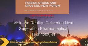 Formulations and Drug Delivery Forum