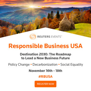 Reuters Events: Responsible Business USA 2021