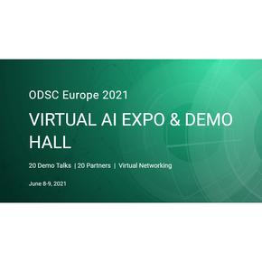 Virtual AI Expo @ ODSC Europe 2021