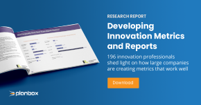 Developing innovation metrics and reports