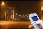 Cell Phones Turn On Street Lights