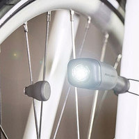 CIO Bikelight Shines Bright without Batteries