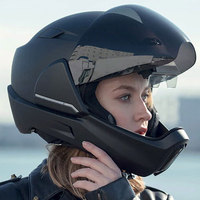crosshelmet rear view motorcycle helmet. Black Bedroom Furniture Sets. Home Design Ideas