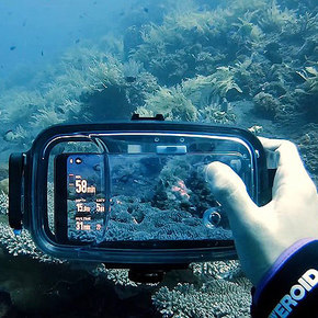 DIVERIOD Turn Smartphones into Powerful Diving Tools