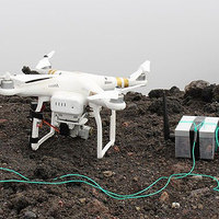 Drone-Dropped Dragon's Eggs Monitor Volcanoes