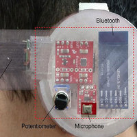 Earable Monitors Temperature to Track Health