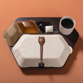 Eco-Friendly In-Flight Meal Tray
