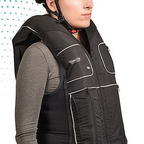 Helite B'Safe Vest Inflates Upon Impact