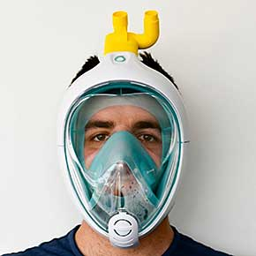 How to Turn a Scuba Mask into a Simple Ventilator