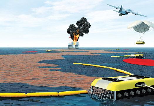 Aeros Oil Spill Cleanup