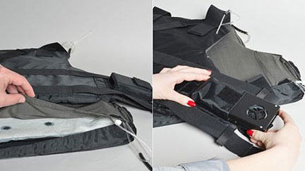 Cooler Bullet-Proof Vest
