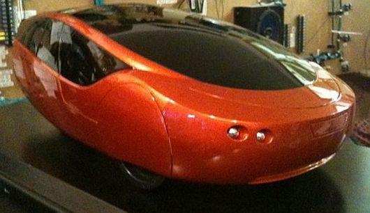 eco friendly car with 3d printed body. Black Bedroom Furniture Sets. Home Design Ideas