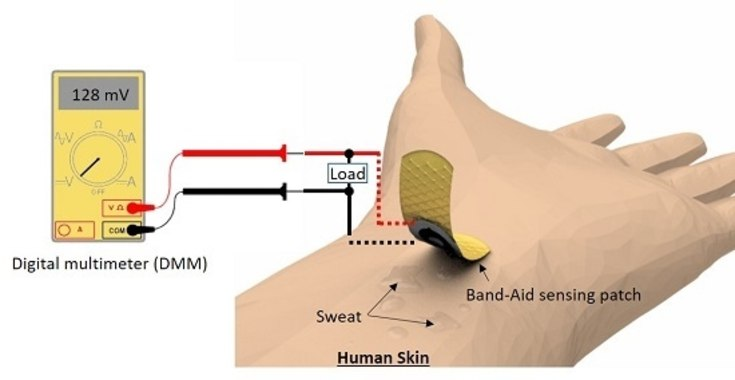 Flexible Patch Tracks Blood Sugar During Exercise