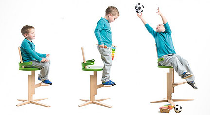 Froc Chair Adjusts To Fit Growing Kids