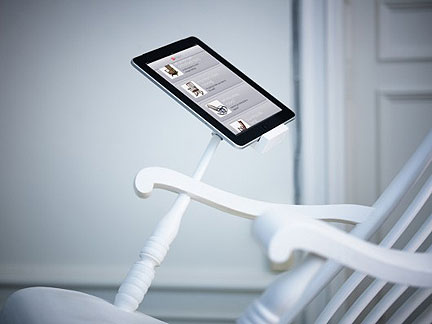 The Worlds First Power Generating Ipad Rocking Chair 1