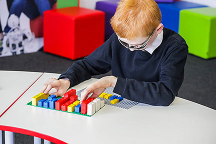 Lego Braille Bricks Makes Braille Learning Fun