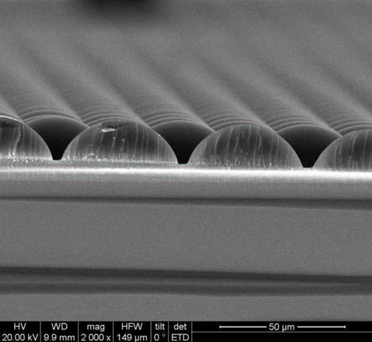 Microlens Film Improves Solar Panel Efficiency
